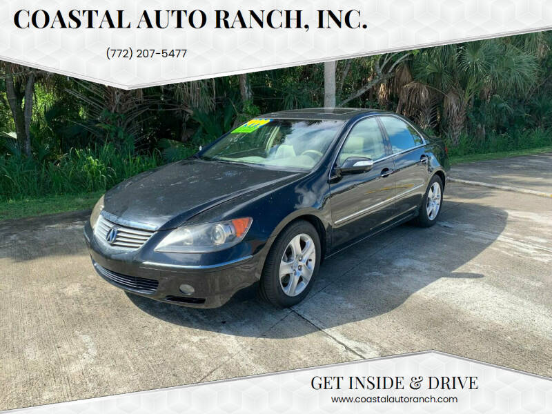2007 Acura RL for sale at Coastal Auto Ranch, Inc. in Port Saint Lucie FL