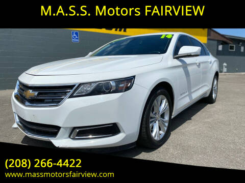 2014 Chevrolet Impala for sale at M.A.S.S. Motors - Fairview in Boise ID