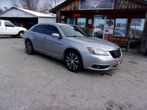 2013 Chrysler 200 for sale at LEE AUTO SALES in McAlester OK