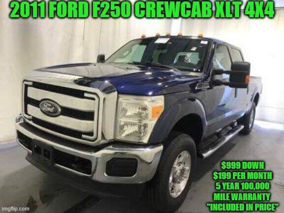 2011 Ford F-250 Super Duty for sale at D&D Auto Sales, LLC in Rowley MA