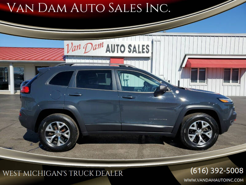 2017 Jeep Cherokee for sale at Van Dam Auto Sales Inc. in Holland MI