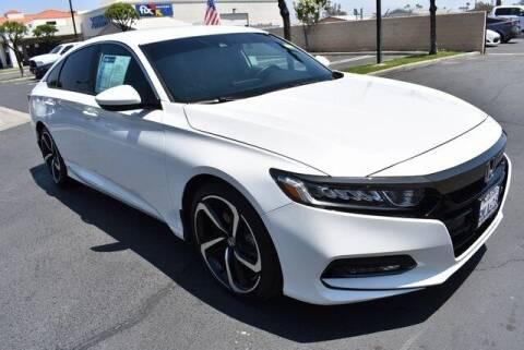 2019 Honda Accord for sale at DIAMOND VALLEY HONDA in Hemet CA