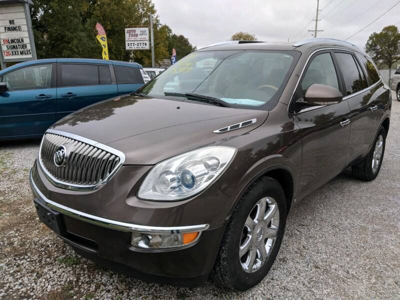 2008 Buick Enclave for sale at AUTO PROS SALES AND SERVICE in Belleville IL