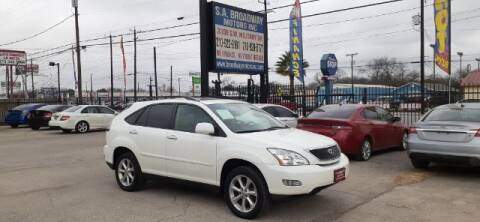 2009 Lexus RX 350 for sale at S.A. BROADWAY MOTORS INC in San Antonio TX