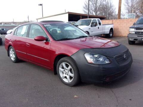 2005 Nissan Altima for sale at Robert Judd Auto Sales in Washington UT