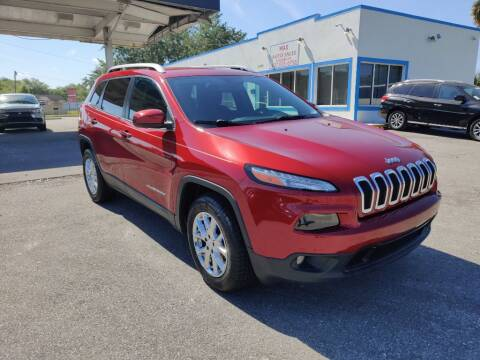 2017 Jeep Cherokee for sale at Max Auto Sales in Sanford FL