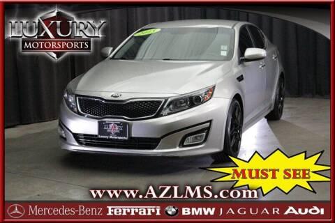 2015 Kia Optima for sale at Luxury Motorsports in Phoenix AZ