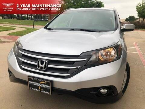 2014 Honda CR-V for sale at European Motors Inc in Plano TX