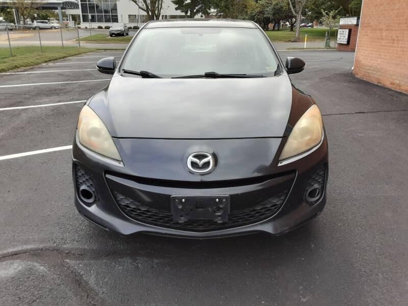 2012 Mazda MAZDA3 for sale at Fredericksburg Auto Finance Inc. in Fredericksburg VA
