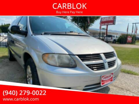 2006 Dodge Grand Caravan for sale at CARBLOK in Lewisville TX