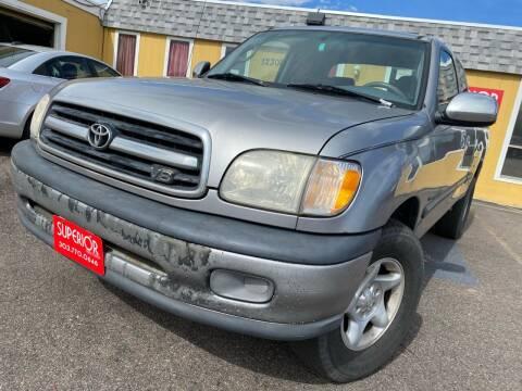 2001 Toyota Tundra for sale at Superior Auto Sales, LLC in Wheat Ridge CO