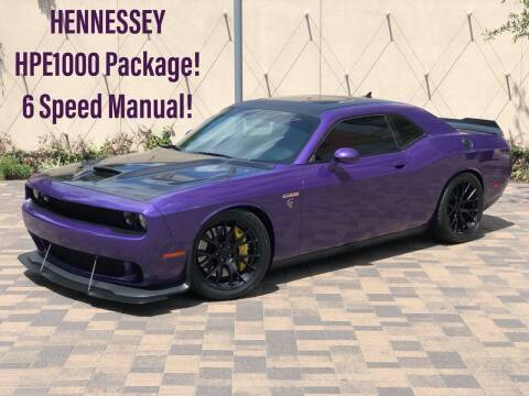 2016 Dodge Challenger for sale at ROGERS MOTORCARS in Houston TX