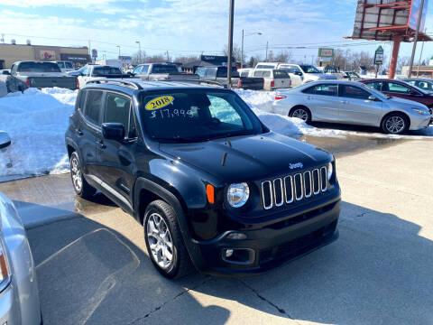 2018 Jeep Renegade for sale at Moser Motors Of Portland in Portland IN