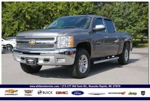 2013 Chevrolet Silverado 1500 for sale at WHITE MOTORS INC in Roanoke Rapids NC