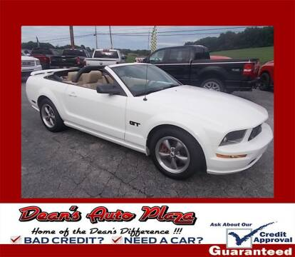 2005 Ford Mustang for sale at Dean's Auto Plaza in Hanover PA