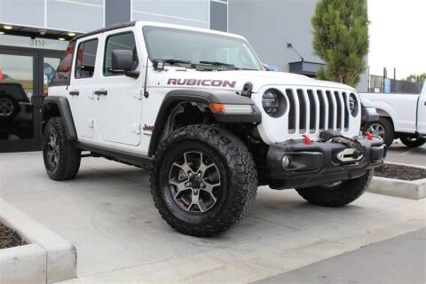 2018 Jeep Wrangler Unlimited for sale at UNITED AUTO in Millcreek UT