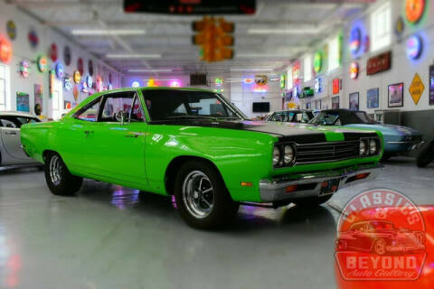 1969 Plymouth Roadrunner for sale at Classics and Beyond Auto Gallery in Wayne MI