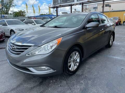 2013 Hyundai Sonata for sale at AUTO ALLIANCE LLC in Miami FL