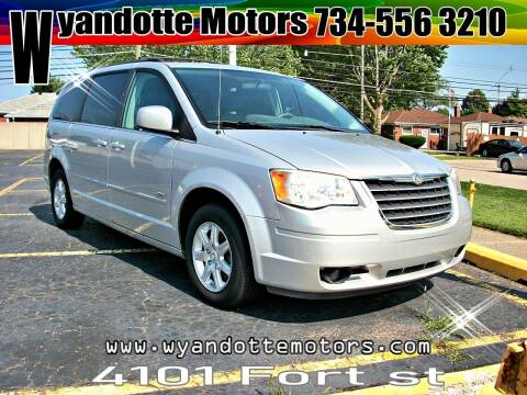 2008 Chrysler Town and Country for sale at Wyandotte Motors in Wyandotte MI
