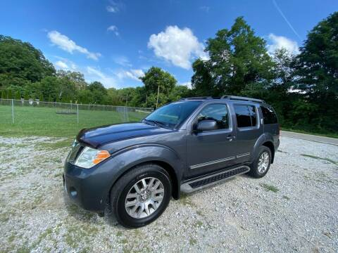 2011 Nissan Pathfinder for sale at Tennessee Valley Wholesale Autos LLC in Huntsville AL