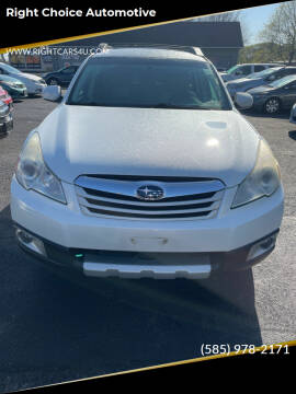 2010 Subaru Outback for sale at Right Choice Automotive in Rochester NY