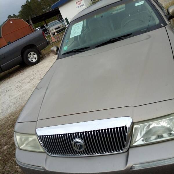 2003 Mercury Grand Marquis for sale at MOTOR VEHICLE MARKETING INC in Hollister FL