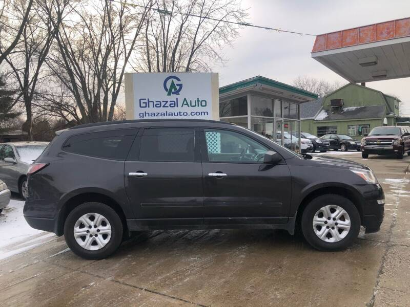 2015 Chevrolet Traverse for sale at Ghazal Auto in Sturgis MI