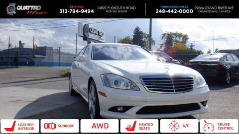 2009 Mercedes-Benz S-Class for sale at Quattro Motors 2 - 1 in Redford MI