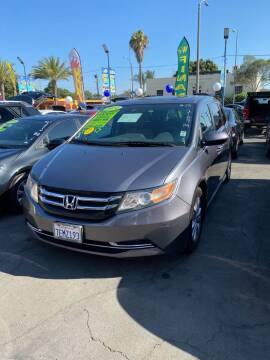2014 Honda Odyssey for sale at 2955 FIRESTONE BLVD - 3271 E. Firestone Blvd Lot in South Gate CA