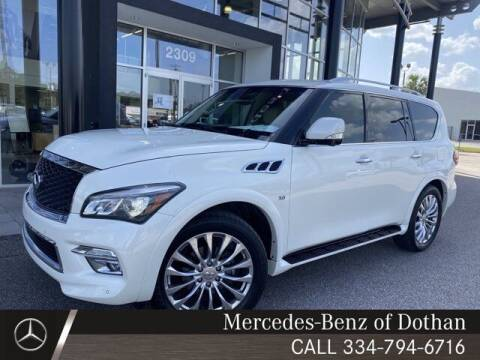 2017 Infiniti QX80 for sale at Mike Schmitz Automotive Group in Dothan AL