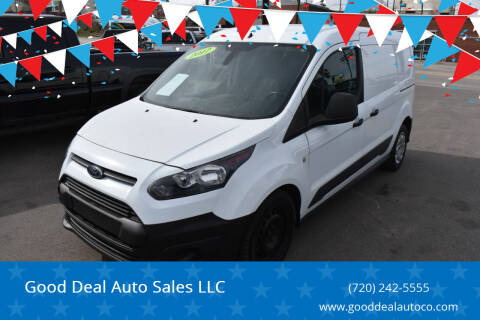 2017 Ford Transit Connect Cargo for sale at Good Deal Auto Sales LLC in Denver CO