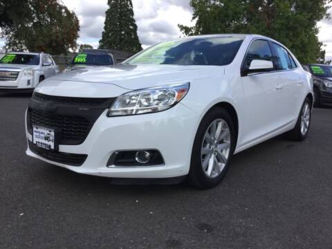 2015 Chevrolet Malibu for sale at Pacific Auto LLC in Woodburn OR