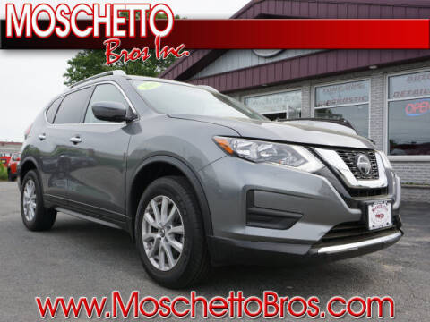 2018 Nissan Rogue for sale at Moschetto Bros. Inc in Methuen MA