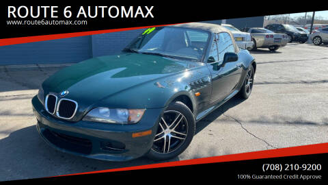 1999 BMW Z3 for sale at ROUTE 6 AUTOMAX in Markham IL