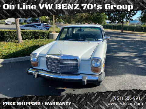 1975 Mercedes-Benz 240-Class for sale at OnLine VW-BENZ.COM Auto Group in Riverside CA
