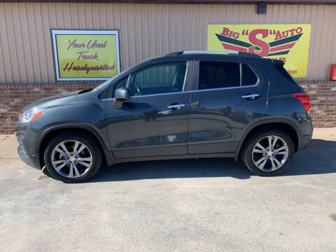 2017 Chevrolet Trax for sale at BIG 'S' AUTO & TRACTOR SALES in Blanchard OK