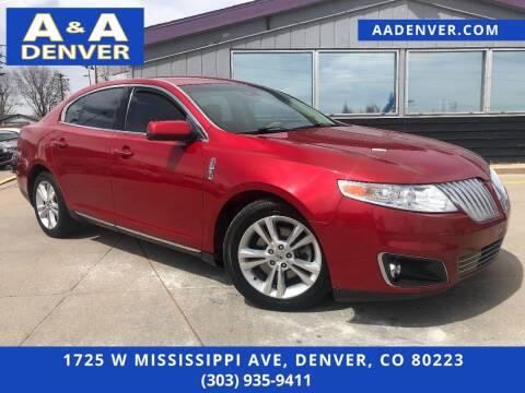 2010 Lincoln MKS for sale at A & A AUTO LLC in Denver CO