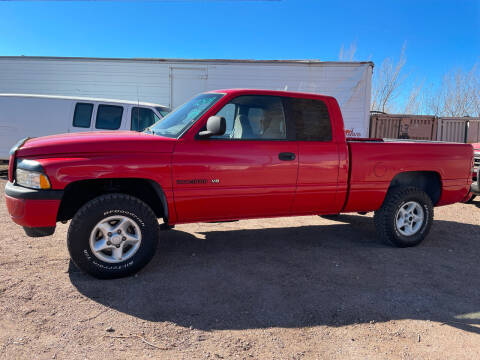 1998 Dodge Ram Pickup 1500 for sale at PYRAMID MOTORS - Pueblo Lot in Pueblo CO
