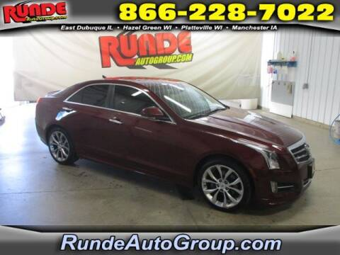 2014 Cadillac ATS for sale at Runde Chevrolet in East Dubuque IL