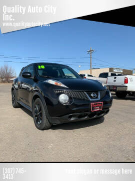 2014 Nissan JUKE for sale at Quality Auto City Inc. in Laramie WY