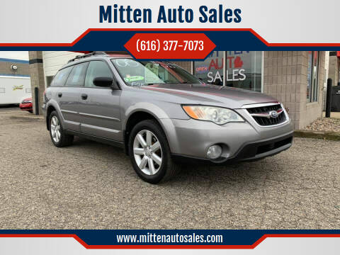 2008 Subaru Outback for sale at Mitten Auto Sales in Holland MI