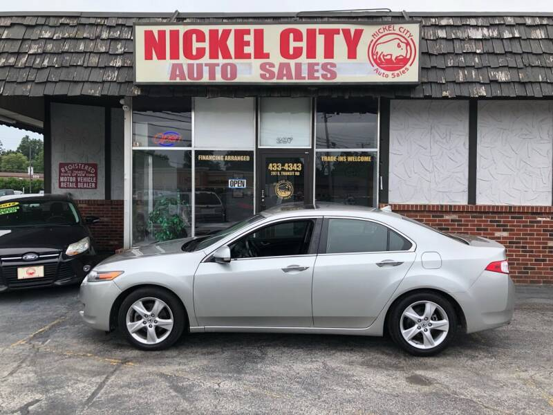 2010 Acura TSX for sale at NICKEL CITY AUTO SALES in Lockport NY