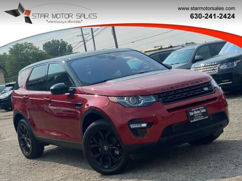 2016 Land Rover Discovery Sport for sale at Star Motor Sales in Downers Grove IL