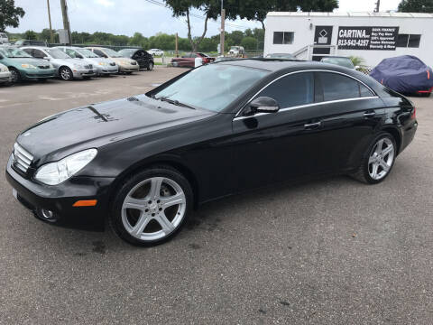2006 Mercedes-Benz CLS for sale at Cartina in Tampa FL