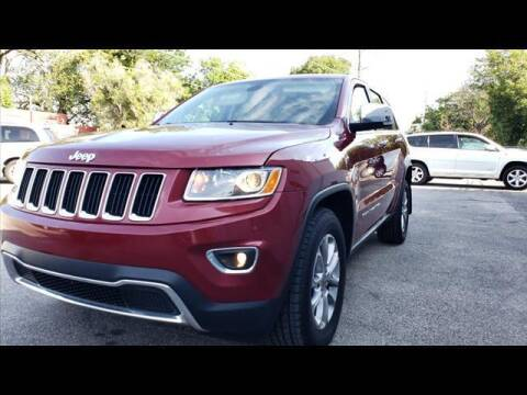 2014 Jeep Grand Cherokee for sale at Euro-Tech Saab in Wichita KS