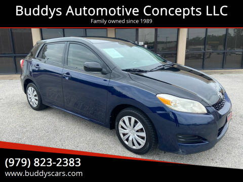 2009 Toyota Matrix for sale at Buddys Automotive Concepts LLC in Bryan TX