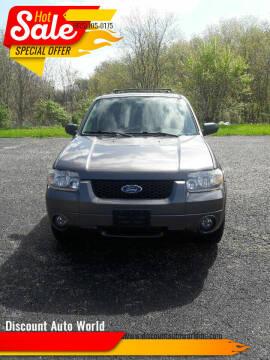 2006 Ford Escape for sale at Discount Auto World in Morris IL
