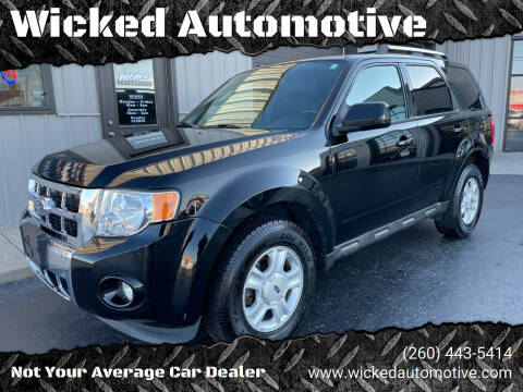 2012 Ford Escape for sale at Wicked Automotive in Fort Wayne IN