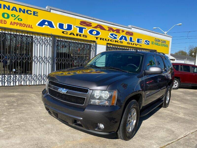 2011 Chevrolet Tahoe for sale at Sam's Auto Sales in Houston TX