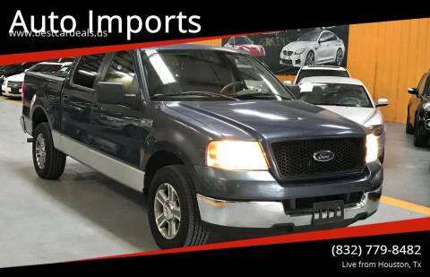 2005 Ford F-150 for sale at Auto Imports in Houston TX